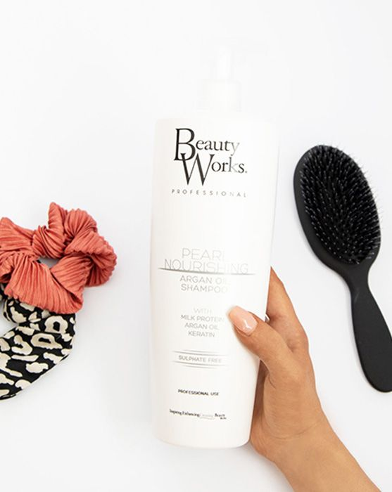 Salon Size Pearl Nourishing Argan Oil Shampoo 1 Litre (Sulphate Free)