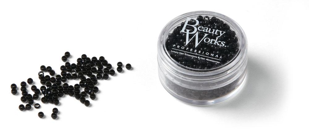 Nano Micro Rings - Black 1000 Pieces