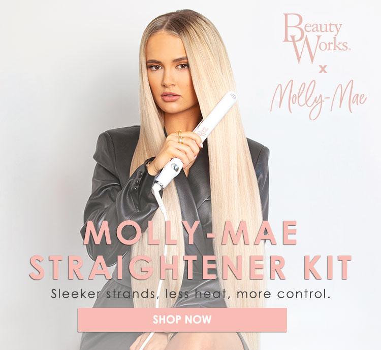 Molly-Mae Straightener Kit - Sleek AF hair just landed!
