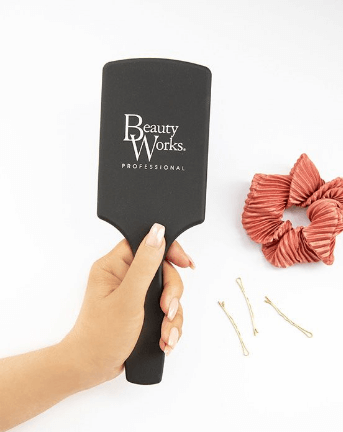 Beauty Works Chrome Bristle Brush