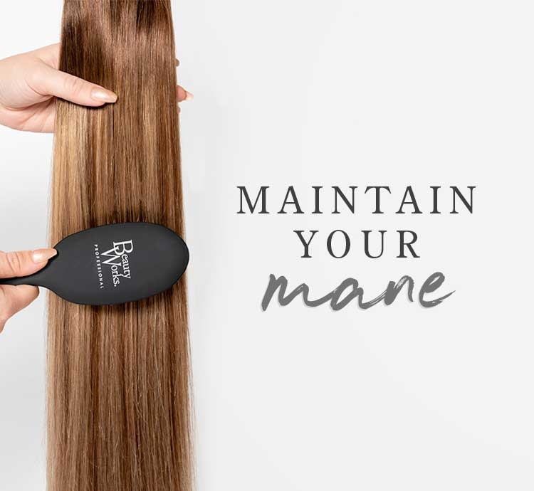 Beauty Works Aftercare Advice Maintain Your Mane