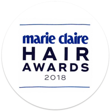 Marie Claire Award 2018 winning hair extensions by Beauty Works