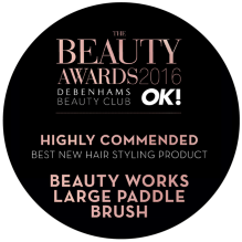 Beauty Works Highly Commended Best New Hair Styling Product – Finalist - 2016