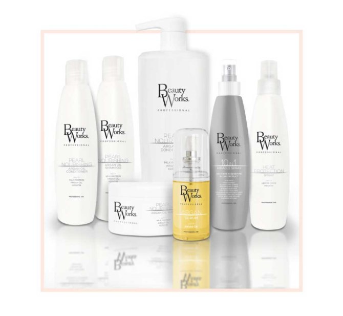 After care of your clip-in hair extensions and Beauty Works product collection