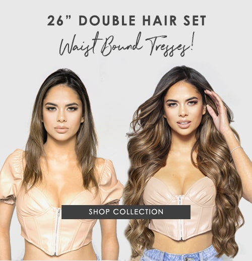 Shop 26 Inch Double Hair Set