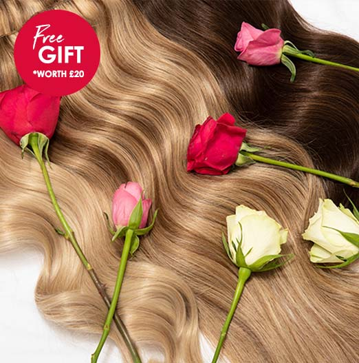 Beauty Works Valentines Shop Clip-in Hair Extensions