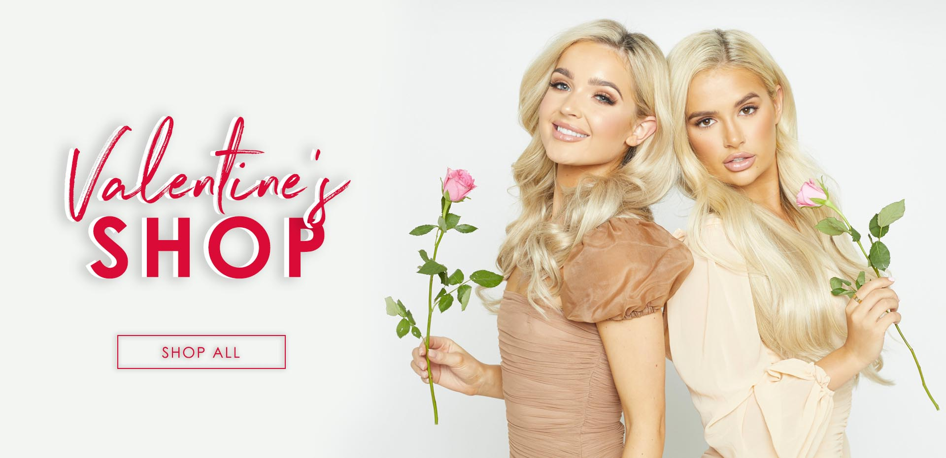 Beauty Works Valentines Shop Banner