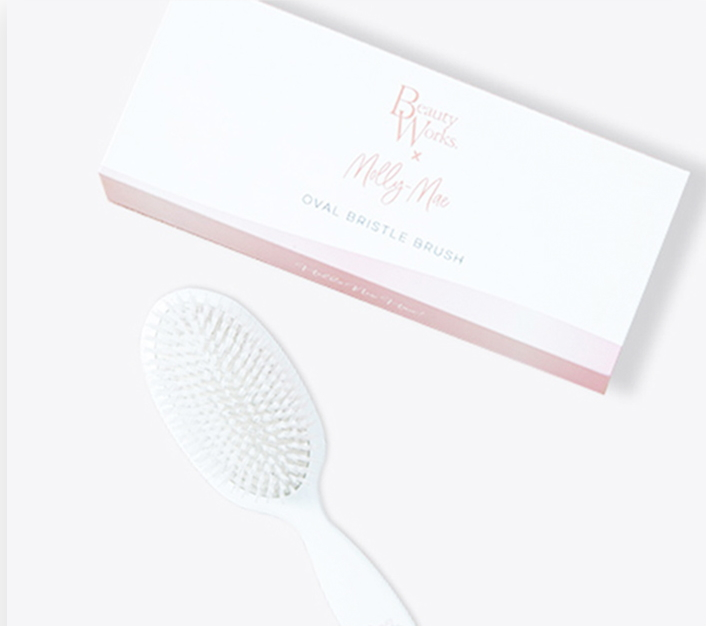 Beauty Works X Molly-Mae Oval Brush