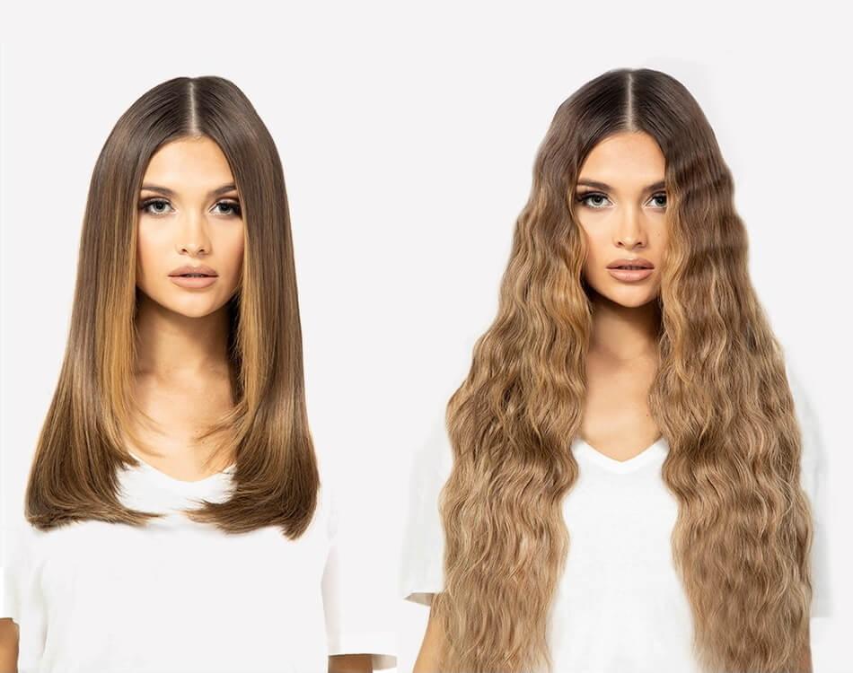 Beauty Works Beach Wave Double Hair Set Hair Extensions