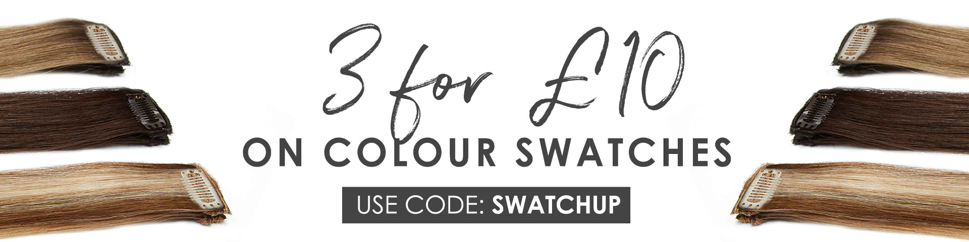 3 for £10 Colour Swatches
