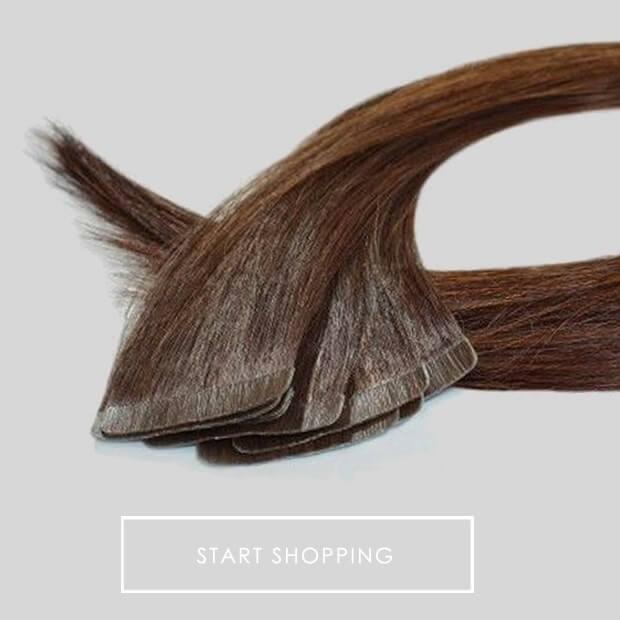 Slim Line Tape Hair Extensions