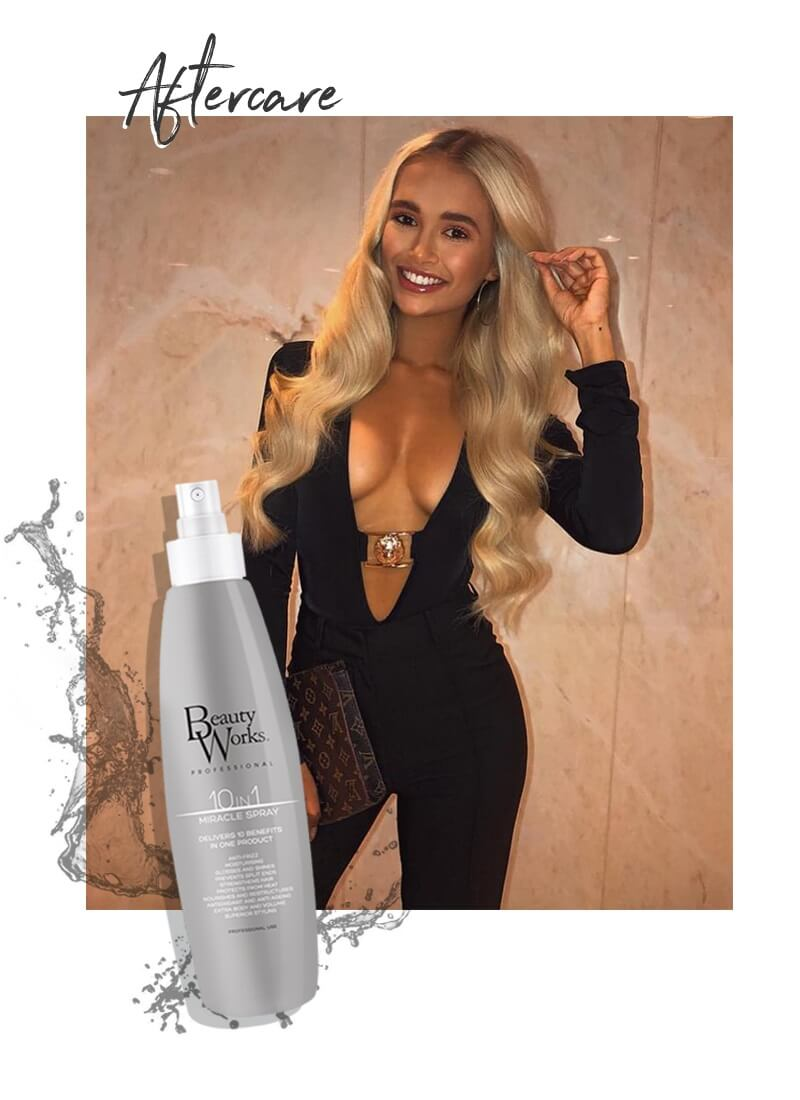 Molly Mae Love Island Shop Aftercare Products