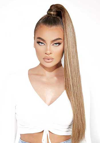 "26"" Super Sleek Invisi® Ponytail"
