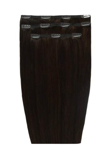Black Tone Clip In Extensions