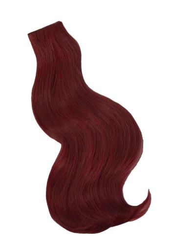 Red & Auburn Tone Weft Extensions