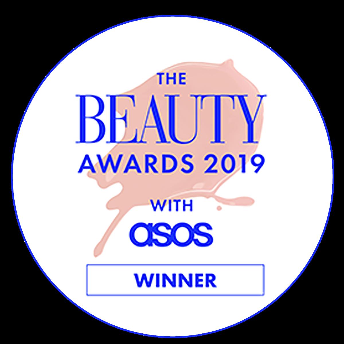 Beauty Awards with ASOS 2019 Winner
