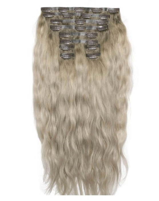 "18"" Beach Wave Double Hair Set - Scandinavian Blonde"