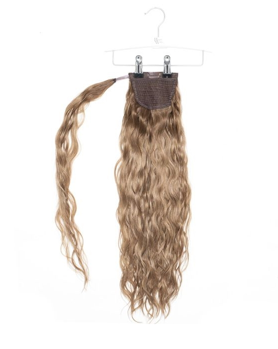"20"" Invisi Ponytail Beach Wave - Mocha Melt"
